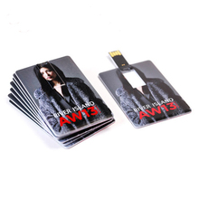 Bulk Low Price 2gb Business Card USB Flash Drive with Customized Logo