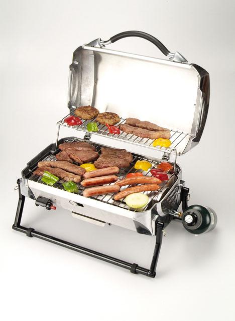 In acciaio inox portatile da tavolo barbecue barbecue gas propano griglie con design della - Barbecue portatile a gas ...