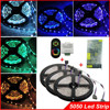 No waterproof RGB smd 5050 led strip light 60led/m+ Wireless RF Dimmer Control Touch Remote Controller+ DC12v 15A power