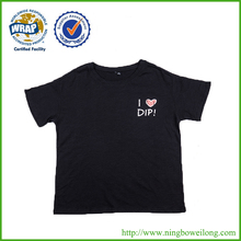 Wholesales OEM service cute fashion screen printing t shirt
