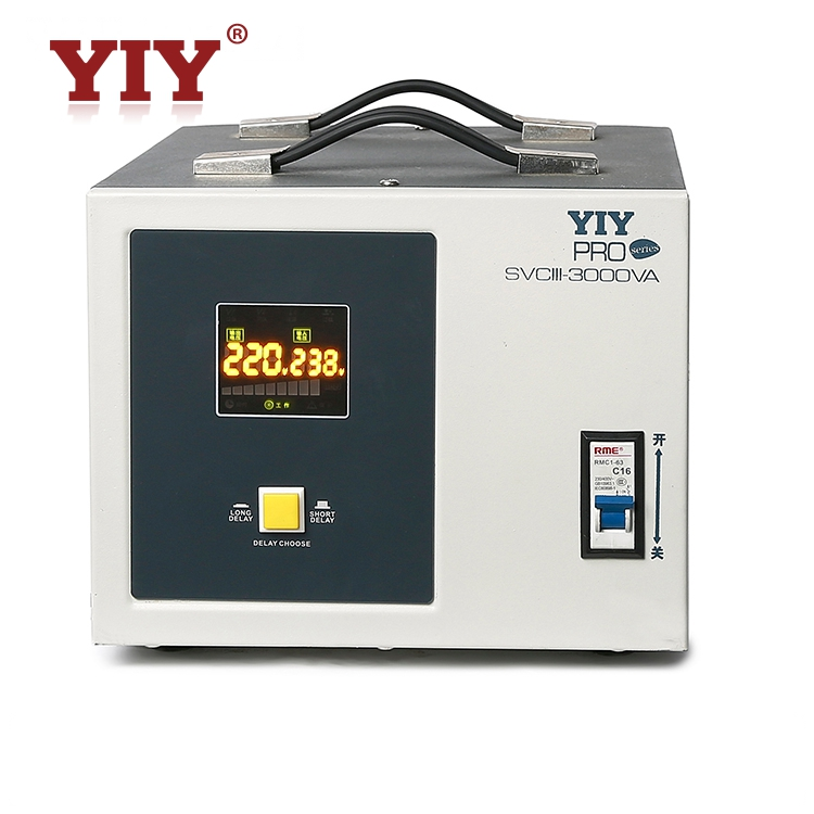 Home electrical stabilizer svc 500va selectable delay time AC to AC AVR Automatic Voltage Regulator
