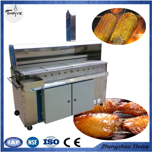 Factory directly price Brazilian rotary meat machine/Meat Barbecue Machine