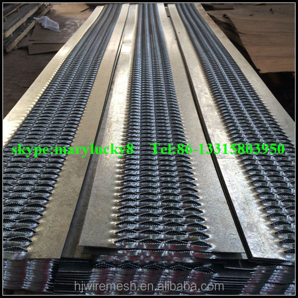 American standard perforated metal channel
