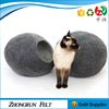 China Wholesaler Fabric Handmade Pet House 100% Wool Felt Cat Bed For Selling