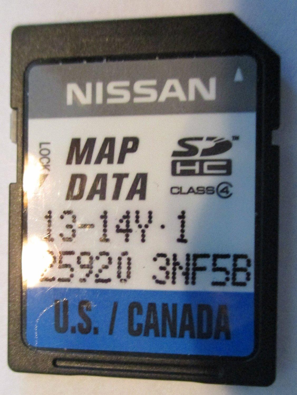NISSAN 25920 9HS0A GENUINE OEM MEMORY SD CARD
