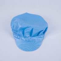 Suzhou Miyuan Supply Breathable ESD Cleanroom Antistatic Work Cap for Workshop
