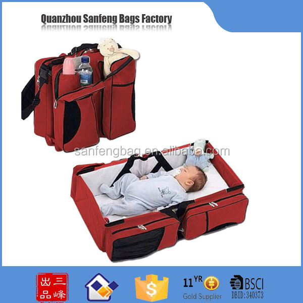Mamy bag & baby bed and bag baby travel bed Mammy