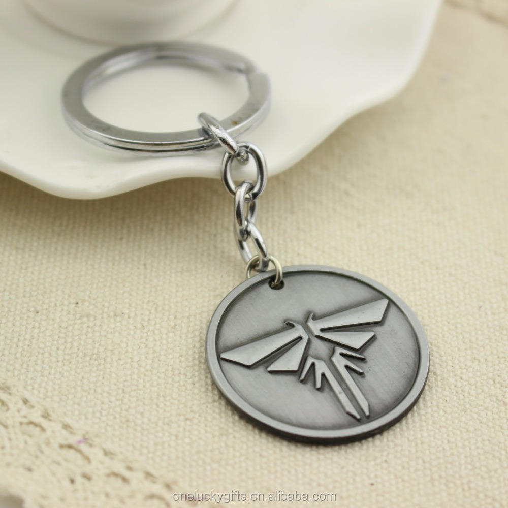 Game Themed The Last of Us Firefly Pendant Keychain for Players