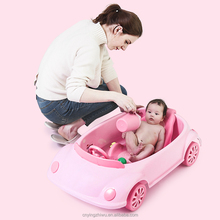 BPA Free 핫 세일 Movable 유아 플라스틱 Baby 욕 Tub 대 한 Baby 차 shape baby <span class=keywords><strong>욕조</strong></span>