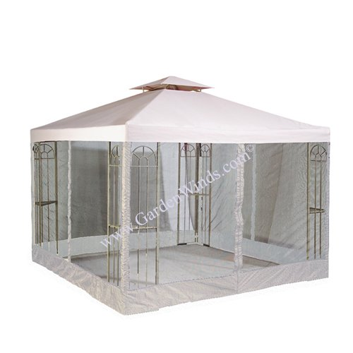 Get Quotations · RIPLOCK Universal 10u0027 x 10u0027 Two-Tiered Replacement Gazebo Canopy and Mosquito Netting  sc 1 st  Alibaba & Cheap Mosquito Net For Gazebo find Mosquito Net For Gazebo deals ...