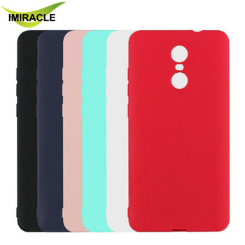 7a0ae88ef Candy color Rubber TPU Frosted Soft Silicone Back Cover Case For Xiaomi  Redmi Note 4 Phone