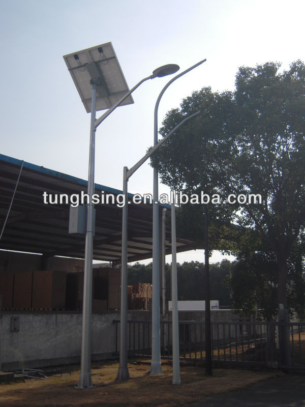 3-5m Fiberglass solar street light pole FRP base -price list