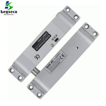 Nc Electric Mortise Dc 12v Fail Safe Drop Bolt Lock For Door Access Control Security