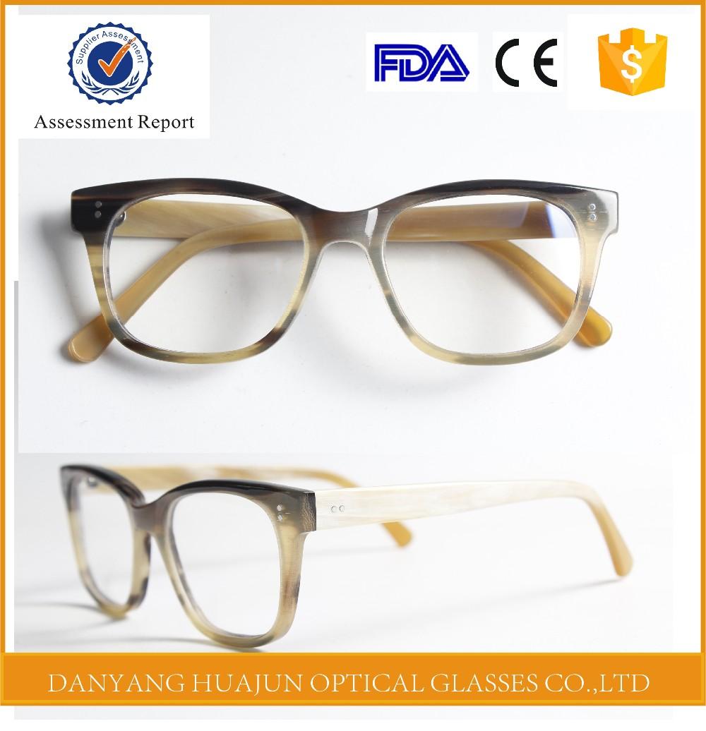 Glasses Frame Logo : Customized Your Metal Logo Bull Horn Frame Eyeglasses ...