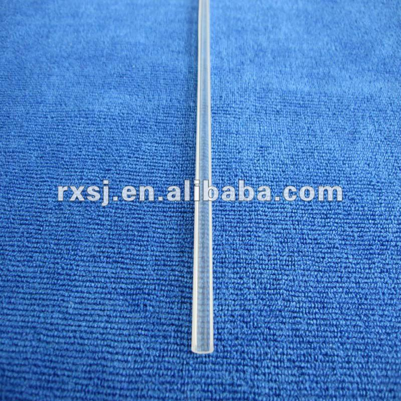 Transparent plastic glass sealing strip