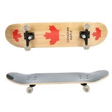customized China maple complete standard skateboard