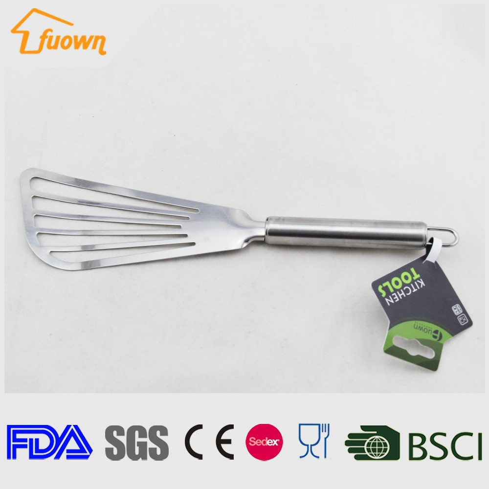 cooking tool fish spatula stainless steel kitchen spatula