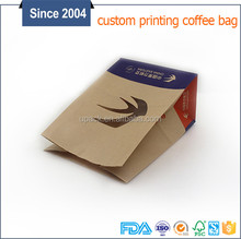chinese biodegradable brown kraft paper bag with clear window