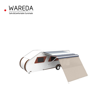 light Grey outdoor side business camping camper awnings