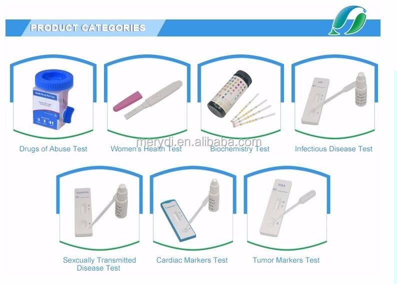 Low price self diagnostic test Home Rapid Urine Test LH ovulation kits