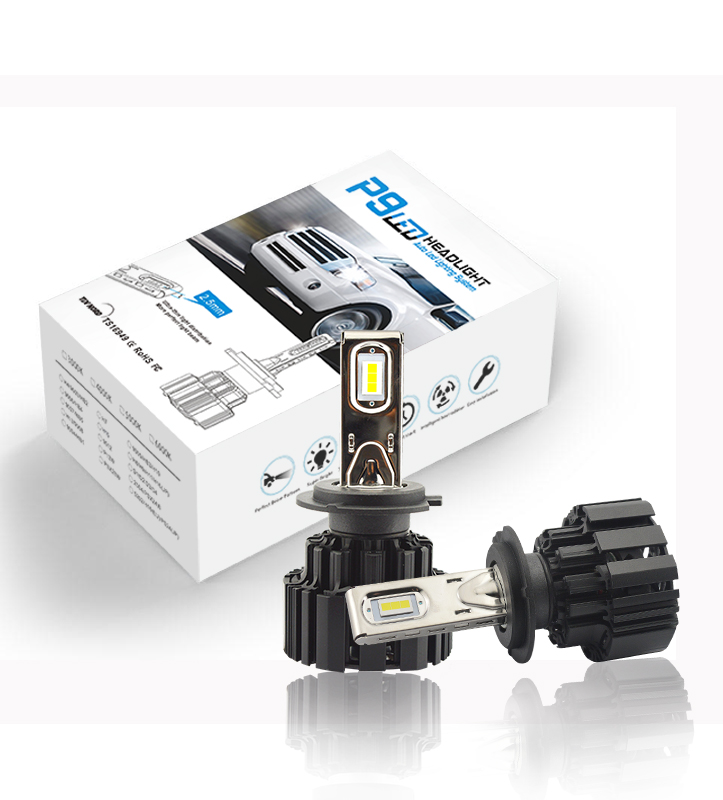 100W P9 led headlight d1s d2s d3s d4s bulb H7 led headlight for universial cars
