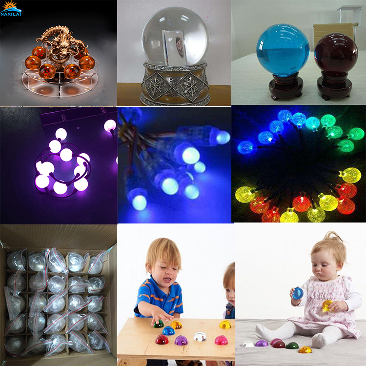 NAXILAI Acrylic Ball 300Mm Pmma Product Sell Column Acrylic Ball Solid Clear Balls for LED Decoration.jpg