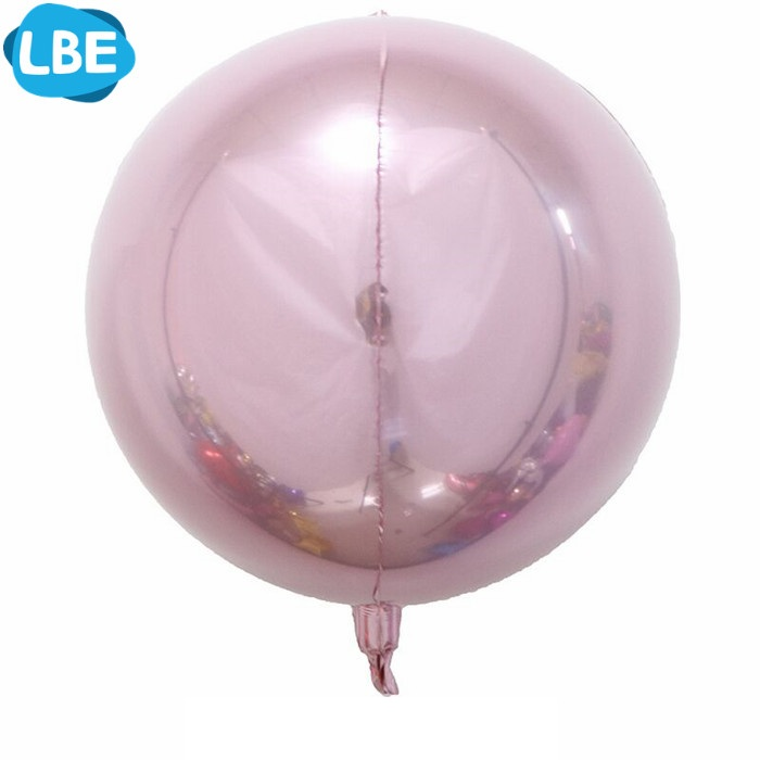 "10"" 15"" 18"" 22"" perfectly round orbs foil balloon 3d"