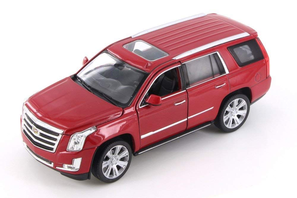 Cadillac Escalade Licence Friction Series 1:24 SCALE Red White Black New