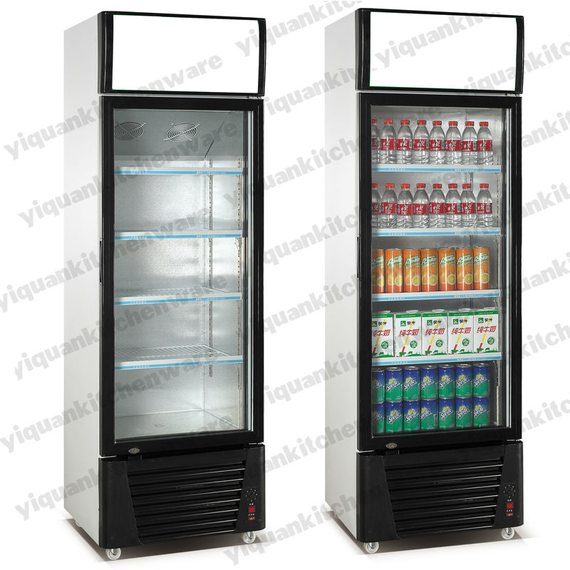 Store Cold Drinks Showcase Chiller Air Cooling Soft Drink