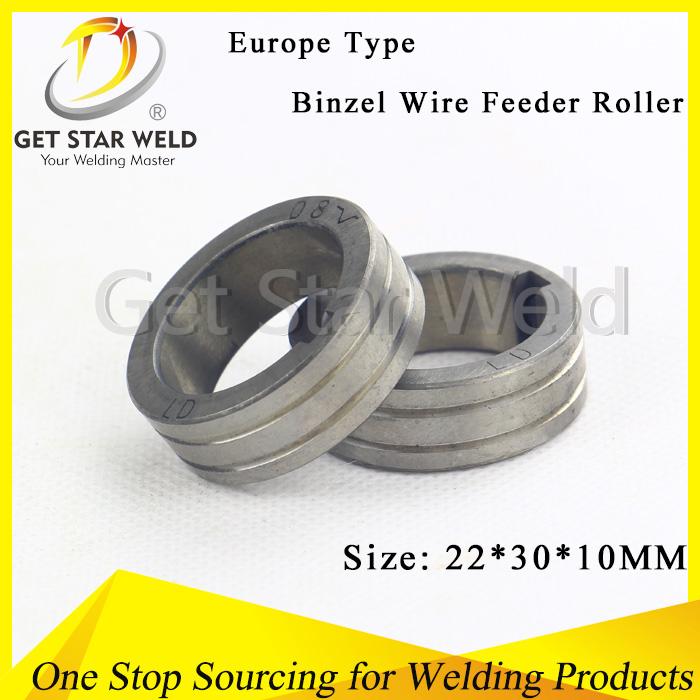 Welding Wire Feeder Roller For Binzel Torch - Buy Euro Type Welding ...