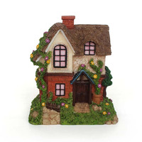 Cheapest resin fairy miniature garden house