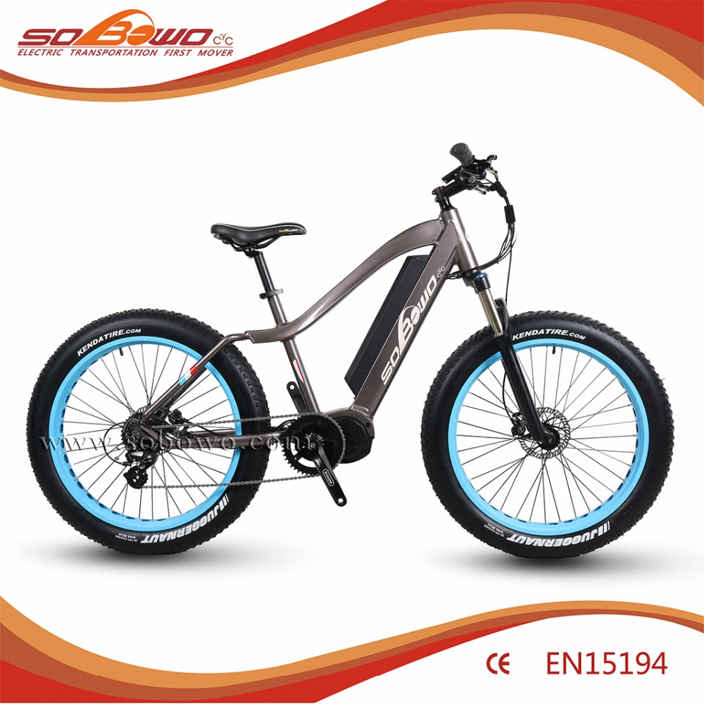 Sobowo Electric Bike S1 Bafang Mid Ultra 1000w Ebike Batteries For Bike -  Buy Electric Bike,Electric Bike Pedal Assistant,Fat Tire Electric Bike