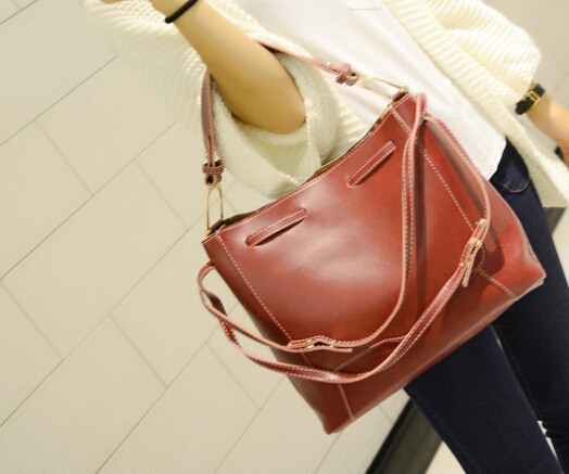 New trend long belt funky leather bag China wholesale good quality fancy handbags