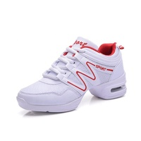 New women's breathable increased aerobics shoes dancing shoes
