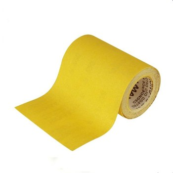 manufacturer D white alundum abrasive sand paper roll for nail file painting