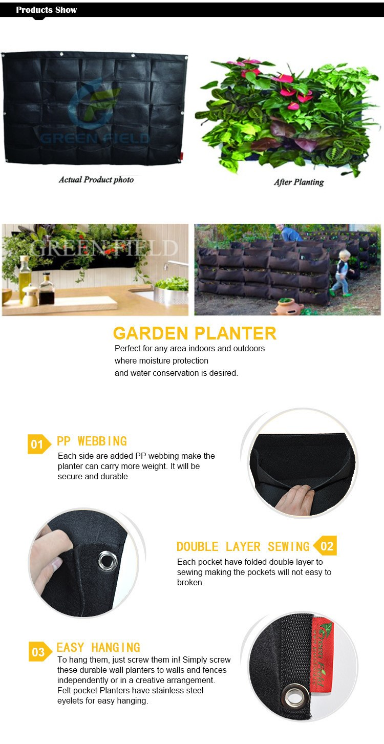 DIY Hanging Planter Bags ...