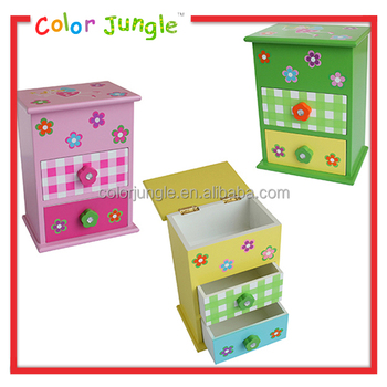 small wooden drawer storage box with lid decorative storage boxes wholesale