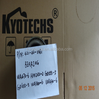 Excavator Bearing For 421-46-11361 421-46-11360 421-46-11362 421 ...