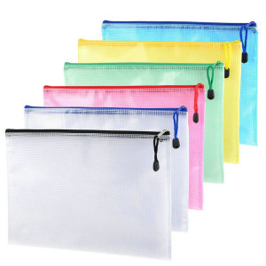 wholesale high quality zipper mesh bags