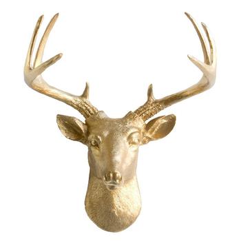 Deer Head Mount >> Art Animal Head Mounted Ornament Deer Head Wall Mount India Buy