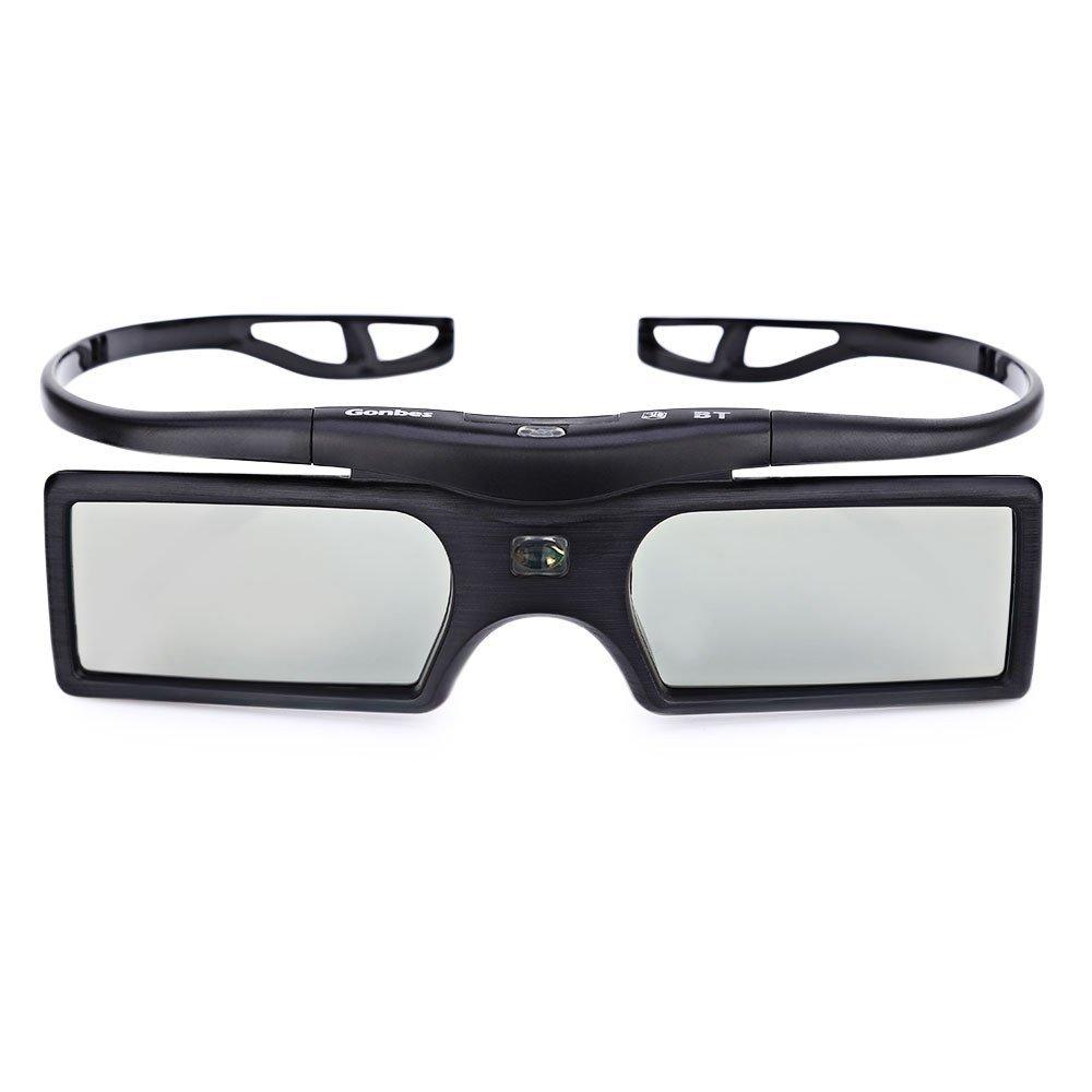 Gonbes G15-Bt 3D Active Shutter Glasses Tv Gafas Bluetooth Lcd Lenses 3D Hdtv Blu-Ray Players Electronic Design Smart Glasses