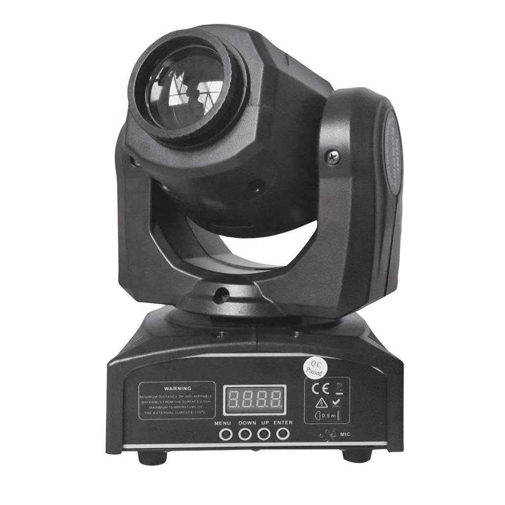 30 w Spot Mini Moving Heads 7 Gobo High Power Led Licht Mini Spot