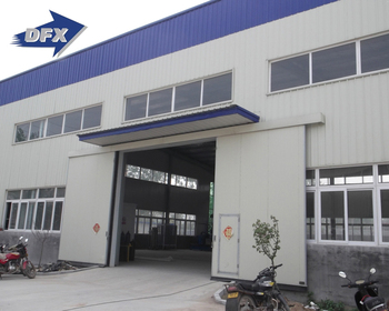 China well practical designed prefab two storey steel structure construction metal warehouse models in Kenya