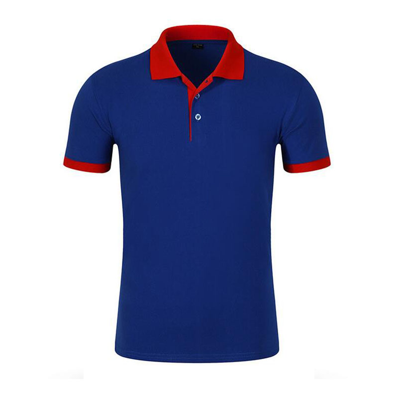 High quality cheap plain blank black short sleeve polo shirt with different size polo shirt making machine