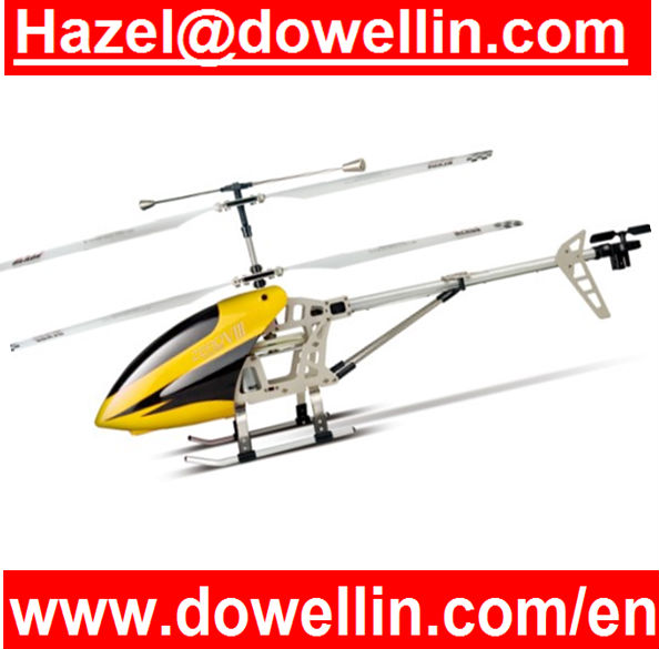 3.5CH Alloy Radio Fly Sky Helicopter with Gyro+Light