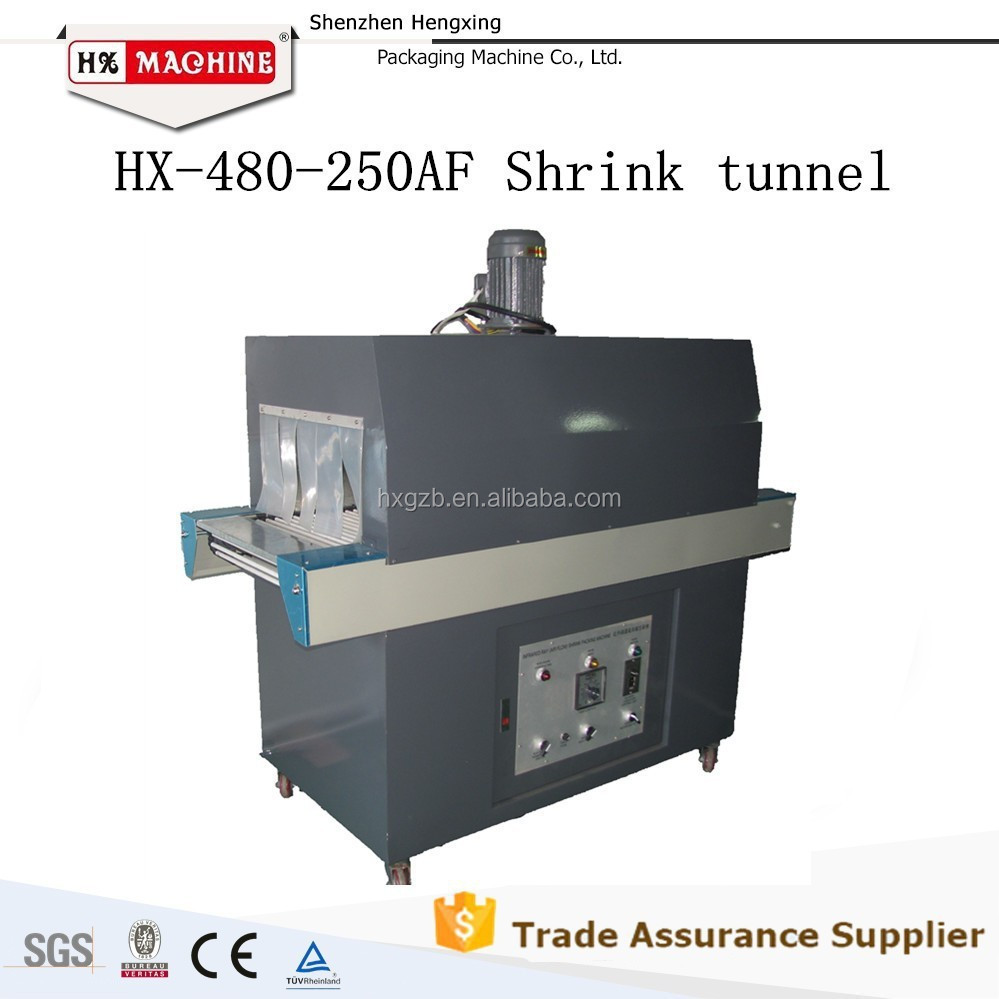 Semi Automatic Sealer Heat Tunnel Shrink Wrapping Machine