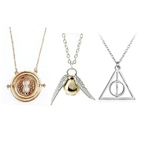3 Style Harry Potter Time Turner Necklace Harry Potter Necklace Time turner Necklace