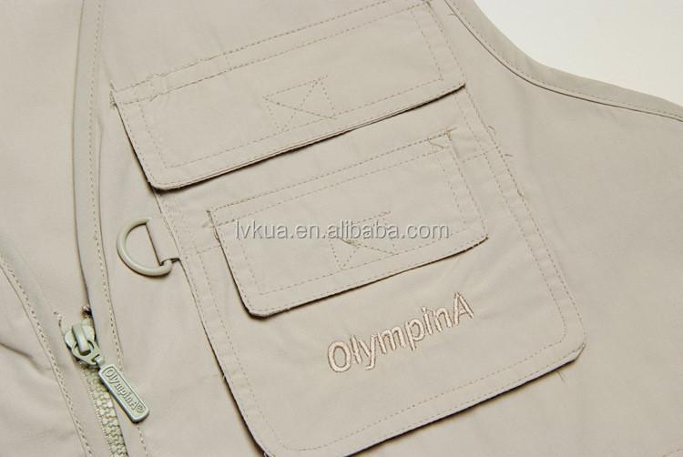 Veste sans manche homme avec poches