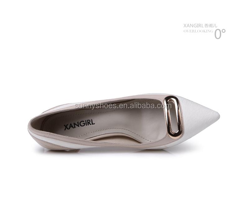 Sexy high pumps ladies sequins shoes stiletto women heel metal white FFwrqd