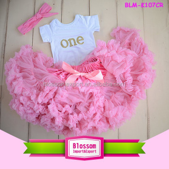 children long frocks designs baby tutus girl's dress baby skirt top girls first birthday outfit, first birthday tutu